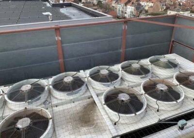 Filet Anti Pigeons pour Groupes Air conditionné